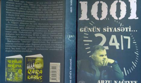 """Arzu Nağıyevin yeni kitabı işıq üzü görüb – """"1001 günün siyasəti"""" bir kitabda (FOTO)"""