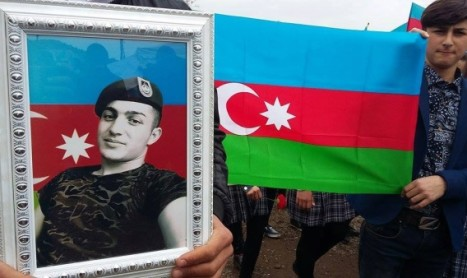 Tovuzlu şəhidimiz torpağa tapşırıldı…(video)