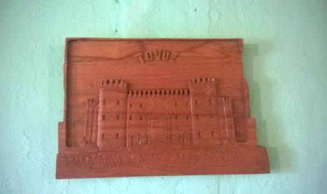 Tovuz tarixini taxta üzərində yazan sənətkar …